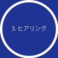 3. ヒアリング